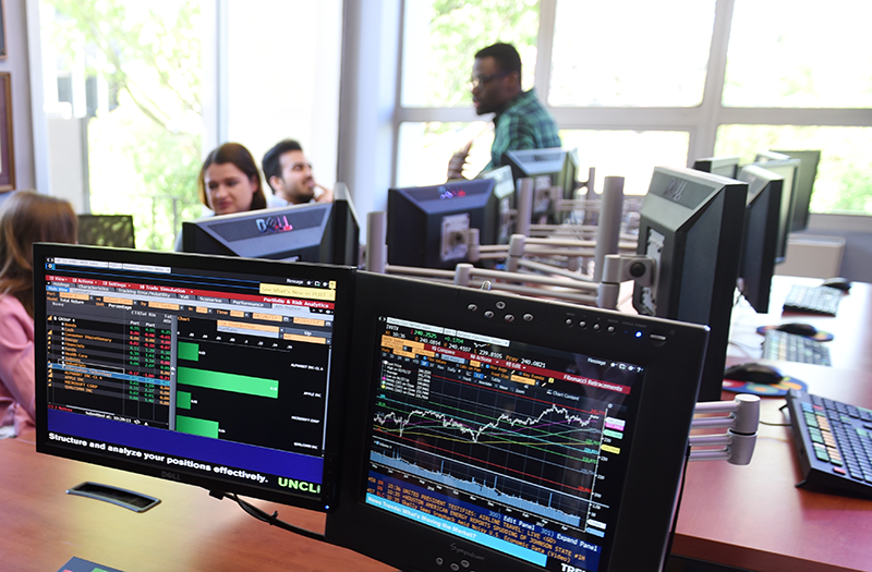Trading Room at Adelphi