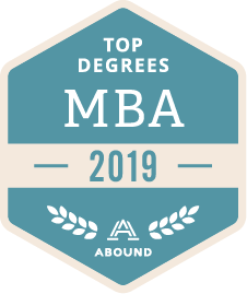 Abound Badge for Top MBA Degree 2019
